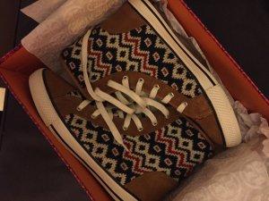 Tory Burch high top sneaker Stiefel 9M 39 40 Strick