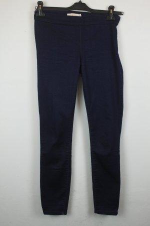 TORY BURCH High Waist Jeans Stretch Skinny Gr. 26 dark denim