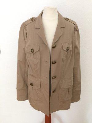 Tory Burch Jacke Beige M 38 Military Jacket