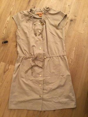 Tory Burch Robe chemise chameau-beige coton