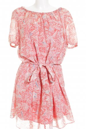 Tory Burch Kurzarmkleid florales Muster Beach-Look