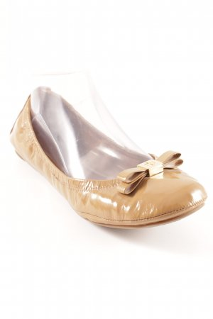 Tory Burch Lackballerinas camel Casual-Look