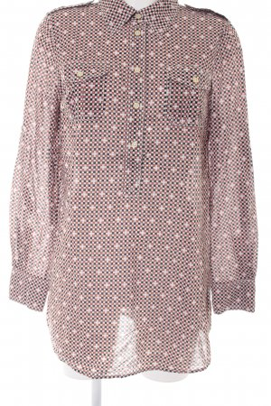 Tory Burch Langarm-Bluse Karomuster Casual-Look