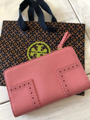 Tory Burch Portefeuille rose-rose cuir