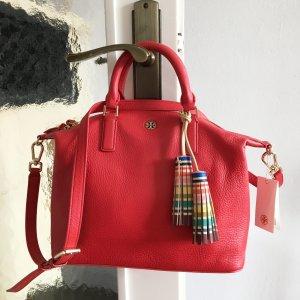 Tory Burch Leder Tasche Rot