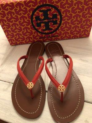 Tory Burch Sandalo toe-post rosso-arancione