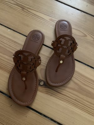 Tory Burch Toe-Post sandals multicolored leather