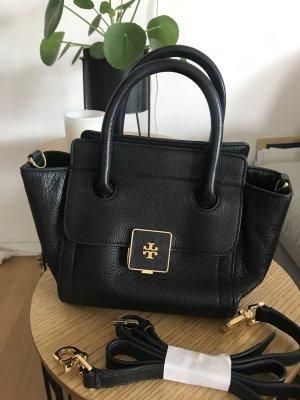 Tory Burch Mini Clara Schultertasche Handtasche Crossbody Leder schwarz *sold out* NP: ca. 500€