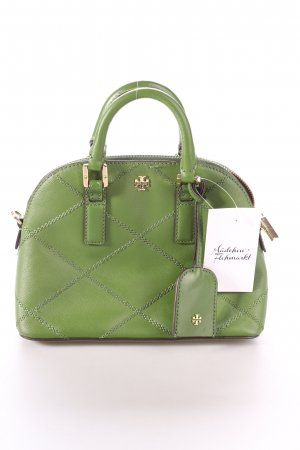 "Tory Burch Minitasche ""Robinson Stitched Mini Dome Satchel"" grün"