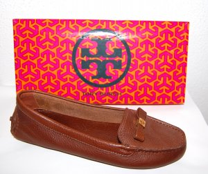 Tory Burch Mocasines marrón Cuero