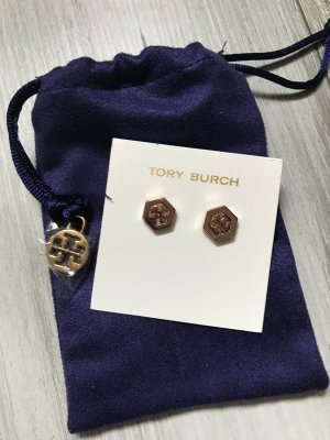 Tory Burch Ear stud rose-gold-coloured stainless steel