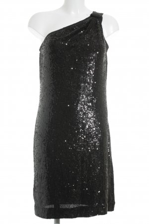 Tory Burch One-Shoulder-Kleid schwarz Elegant