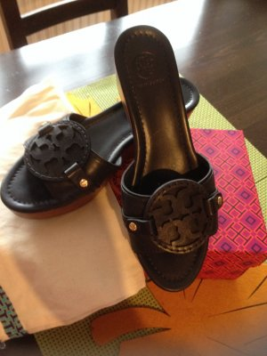 Tory Burch Mules dark blue