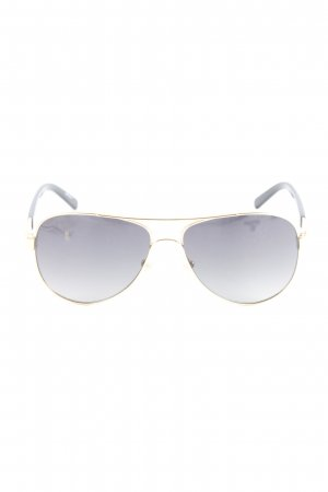 Tory Burch Pilot Brille goldfarben-schwarz Casual-Look