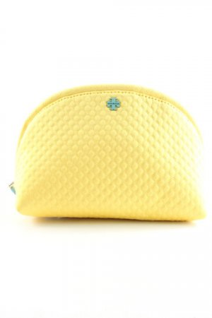 Tory Burch Pochette neon yellow-pale blue structure style