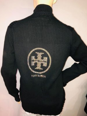 Tory Burch Pullover in gr 40 Farbe Schwarz Strass