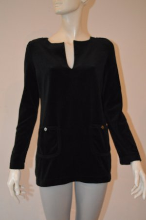 Tory Burch Long Sweater black cotton