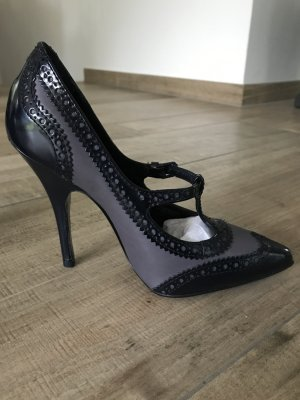 Tory Burch Mary Jane Pumps black leather