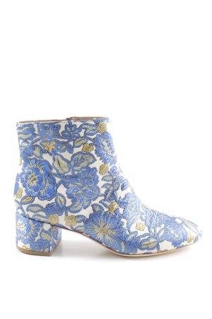 Tory Burch Botas con cremallera estampado floral elegante