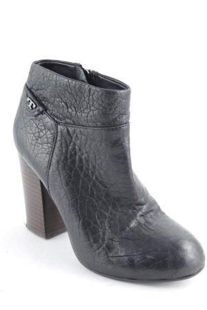 Tory Burch Reißverschluss-Stiefeletten schwarz schlichter Stil