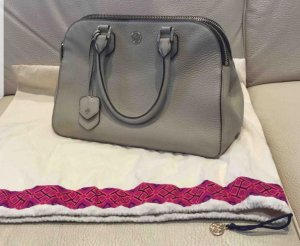 Tory Burch Robinson Peebled Leather Tote