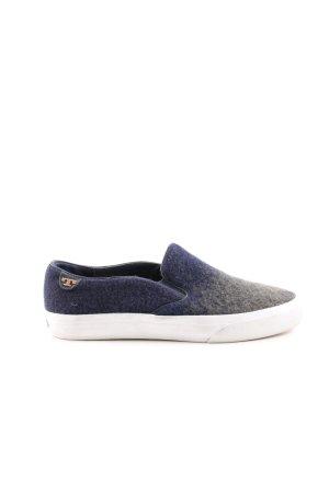 Tory Burch Schlüpfsneaker blau-hellgrau Farbverlauf Casual-Look