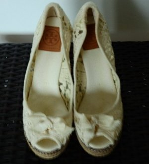 Tory Burch Schuhe Shoes wedges neu Gr. 37 1/2 Blitzversand!