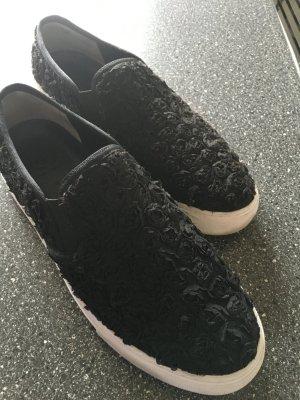 Tory Burch Sneakers schwarz getragen Größe 41
