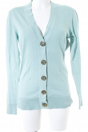 Tory Burch Strickjacke türkis Casual-Look