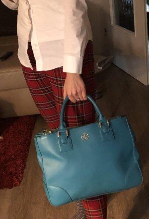 Tory Burch Tasche Handtasche Crossbody Saffiano echt Leder Np 499€