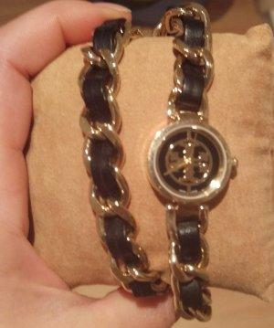 tory burch trb4001 damenuhr armbanduhr leder neu reva mini