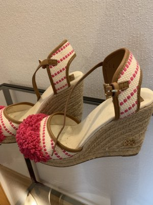 Tory Burch Wedge Sandals multicolored