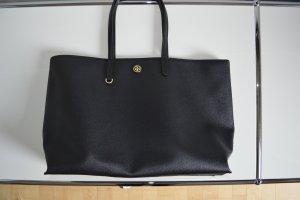 TORY BURCH XL Shopper CAMERON BAG SCHWARZ wie neu, NP: 300€