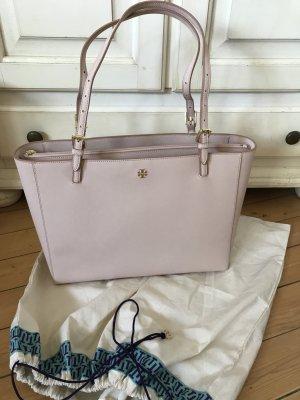Tory Burch  York Tote Bag Leder Shopper/Tasche Neu mit Etikett und Rechnung in Rosa