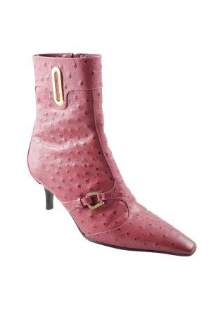 Tosca blu Absatz Stiefel rostrot-goldfarben extravaganter Stil