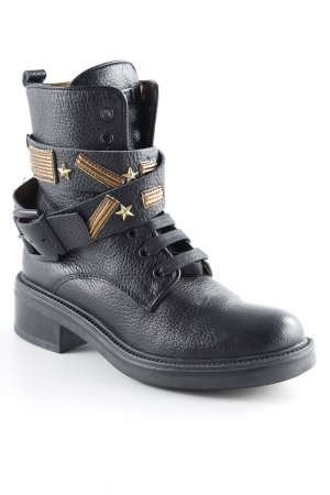 Tosca blu Ankle Boots schwarz-bronzefarben Casual-Look