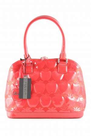 Tosca blu Sac bowling rouge fluo motif embelli style extravagant