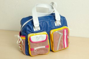 Tosca blu Carry Bag multicolored imitation leather