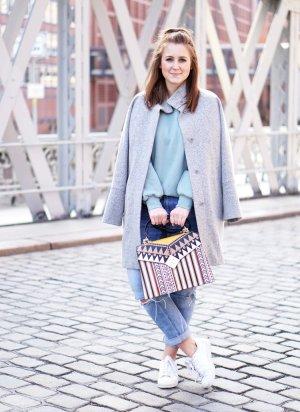Tosca blu Handbag Aztec pattern casual look