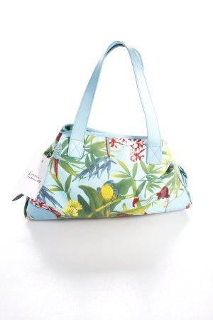 Tosca blu Handtasche florales Muster Schnallenelemente