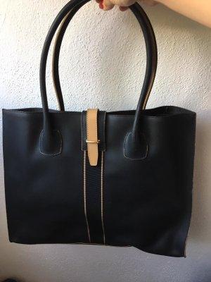 Tosca Blu italienische Dunkelblaue Handtasche
