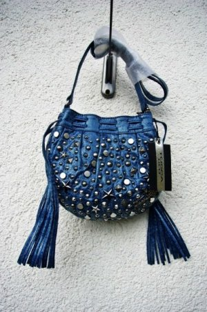 Tosca Blu Lederbag blau Festival Season