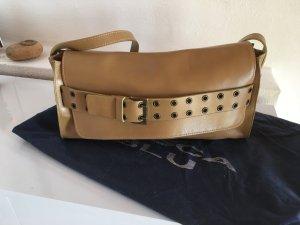 Tosca blu Handbag beige-camel leather