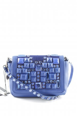 Tosca blu Mini Bag blue-silver-colored glittery