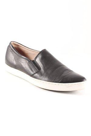 Tosca blu Slip-on noir-crème style mode des rues
