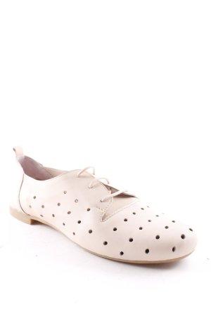 Tosca blu Chaussures à lacets rose chair style décontracté