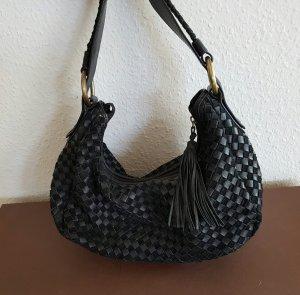 Tosca Blu Tasche aus geflochtenem intrecciato Leder bottega veneta