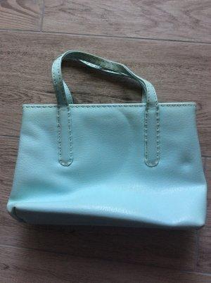 Tosca Blue Henkeltasche Leder hellblau