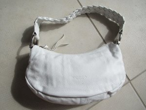 Tosca blue - weisse Handtasche