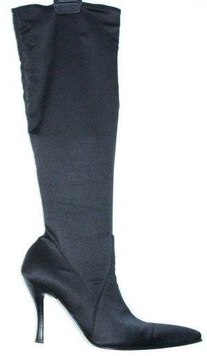 Total in trend - Luxus SOCK BOOT  aus Satin von Pari-Pari  Made in Italy